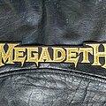 Megadeth - Patch - Megadeth - Logo Backshape