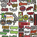 """Sabbat (Jap) - Patch - Small Embroidered Patches - """"S Pt II"""""""