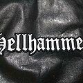 Hellhammer - Patch - Hellhammer - Logo Backshape