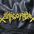 Sarcofago - Patch - Sarcofago - Logo Backshape
