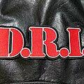 D.R.I. - Patch - D.R.I. - Logo Backshape