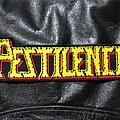 Pestilence - Patch - Pestilence - Logo Backshape