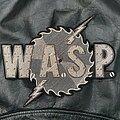 W.A.S.P. - Patch - WASP - Logo Backshape