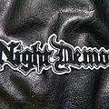 Night Demon - Patch - Night Demon - Logo Backshape