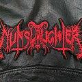 Nunslaughter - Patch - Nunslaughter - Logo Backshape