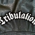 Tribulation - Patch - Tribulation - Logo Backshape