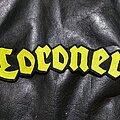 Coroner - Patch - Coroner - Logo Backshape