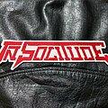 In Solitude - Patch - In Solitude - Logo Backshape