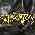 Suffocation - Patch - Suffocation - Logo Backshape