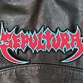 Sepultura - Patch - Sepultura - Logo Backshape