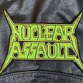 Nuclear Assault - Patch - Nuclear Assault - Logo Backshape