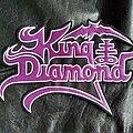 King Diamond - Patch - King Diamond - Logo Backshape