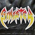 Sinister - Patch - Sinister - Logo Backshape