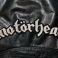 Motörhead - Patch - Motörhead - Logo Backshape