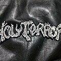 Holy Terror - Patch - Holy Terror - Logo Backshape