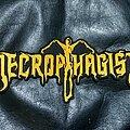 Necrophagist - Patch - Necrophagist - Logo Backshape