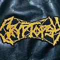 Cryptopsy - Patch - Cryptopsy - Logo Backshape