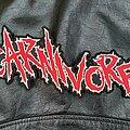 Carnivore - Patch - Carnivore - Logo Backshape