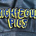 Righteous Pigs - Patch - Righteous Pigs - Logo Backshape
