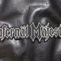 Infernal Majesty - Patch - Infernal Majesty - Logo Backshape