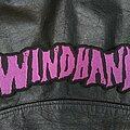 Windhand - Patch - Windhand - Logo Backshape