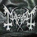 Mayhem - Patch - Mayhem - Logo Backshape