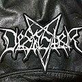 Desaster - Patch - Desaster - Logo Backshape