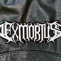 Exmortus - Patch - Exmortus - Logo Backshape