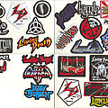 """La Guns - Patch - Small Embroidered Patches - """"L"""""""