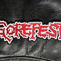 Gorefest - Patch - Gorefest - Logo Backshape