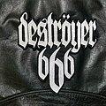 Deströyer 666 - Patch - Destroyer 666 - Logo Backshape