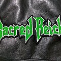 Sacred Reich - Patch - Sacred Reich - Logo Backshape