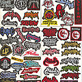 """Sabaton - Patch - Small Embroidered Patches - """"S Pt I"""""""