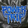 Power Trip - Patch - Power Trip - Logo Backshape