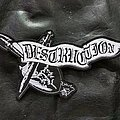 Destruction - Patch - Destruction - Logo Backshape