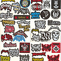 """Malice - Patch - Small Embroidered Patches - """"M Pt I"""""""