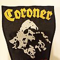 "Coroner ""Death Cult"" Embroidered Patch"