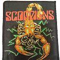 Vintage Scorpions Woven Patch