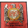"Slayer - ""Season in the Abyss"" Woven Patch"