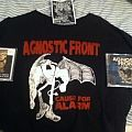 TShirt or Longsleeve -  A little Agnostic Front Collection