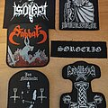 Isolert - Patch - Patches for an upcoming battlejacket 2