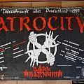 Atrocity - Other Collectable - Todessehnsucht über Deutschland 1993