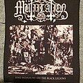 Mütiilation - Patch - Mütiilation- Hail Satanas We Are The Black Legions backpatch