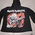 Iron Maiden - Hooded Top - Iron Maiden eddie bass hoodie