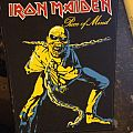 Iron Maiden - Patch - Iron Maiden - Piece Of Mind vintage backpatch.