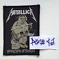 Metallica - Patch - Metallica - Harvester Of Sorrow