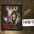 W.A.S.P. - Patch - Wasp - Blind In Texas (for trade)