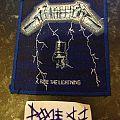 Metallica - Patch - Metallica - Ride The Lightning
