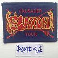 Saxon - Crusader Tour Patch