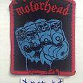 Motörhead - Patch - Motorhead - Iron Fist (unofficial)